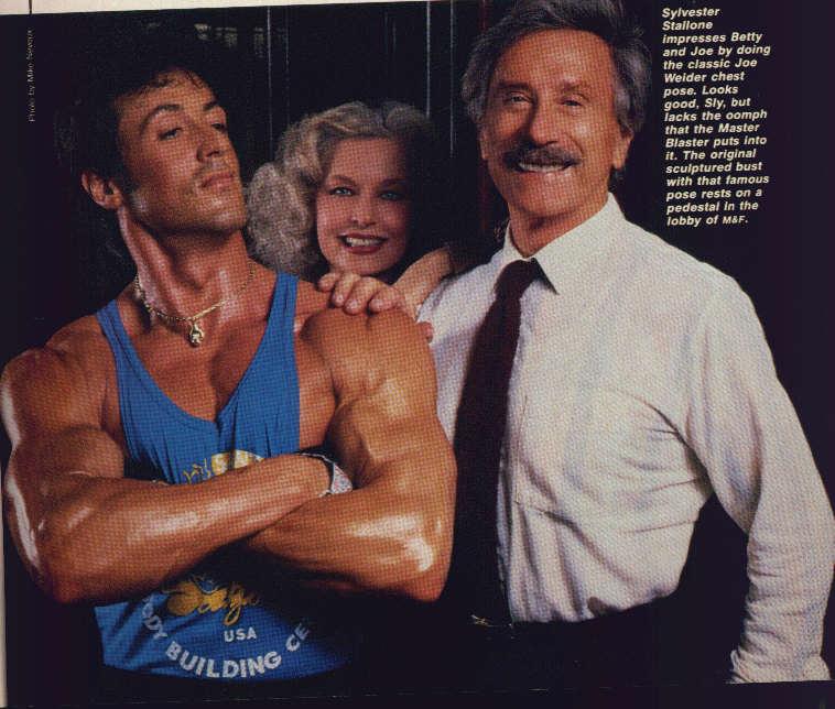 Stallone and Van Dam