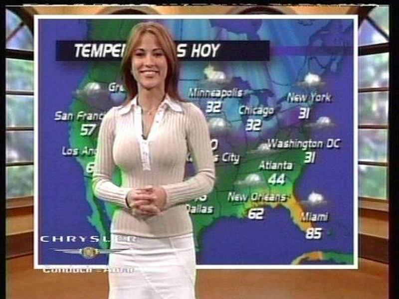 For Weather news girls nude