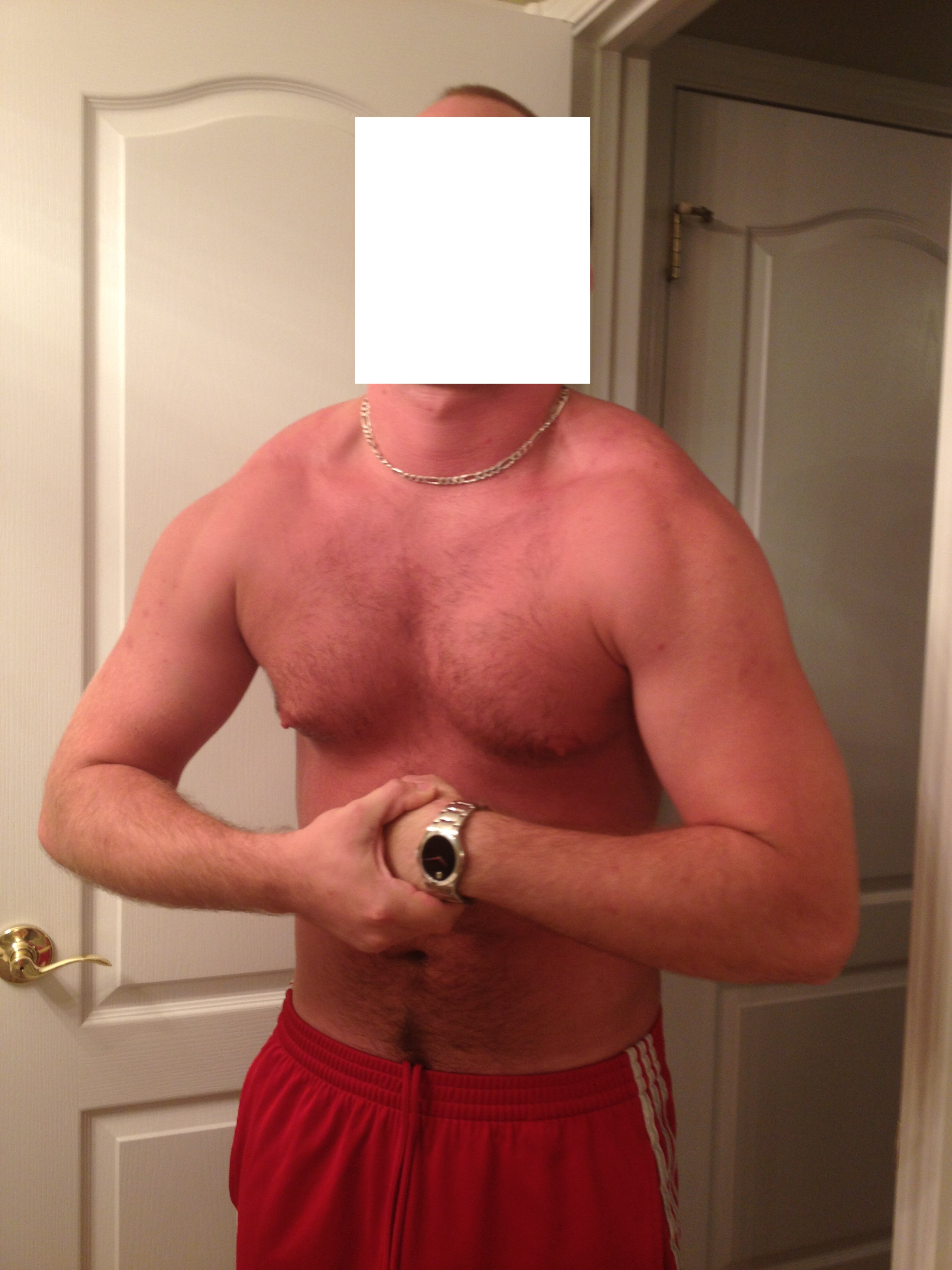 Lots of requests to see my 40lb muscle gain in 5 months, heres my