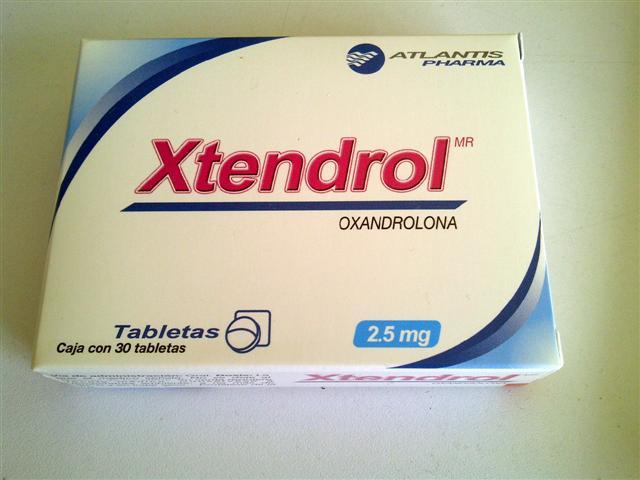xtendrol oxandrolone 2.5mg