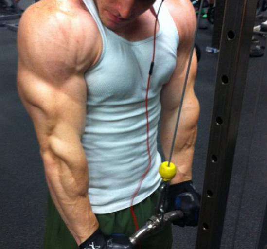 How do I get my arms to be mutant like these? Is it AAS ...