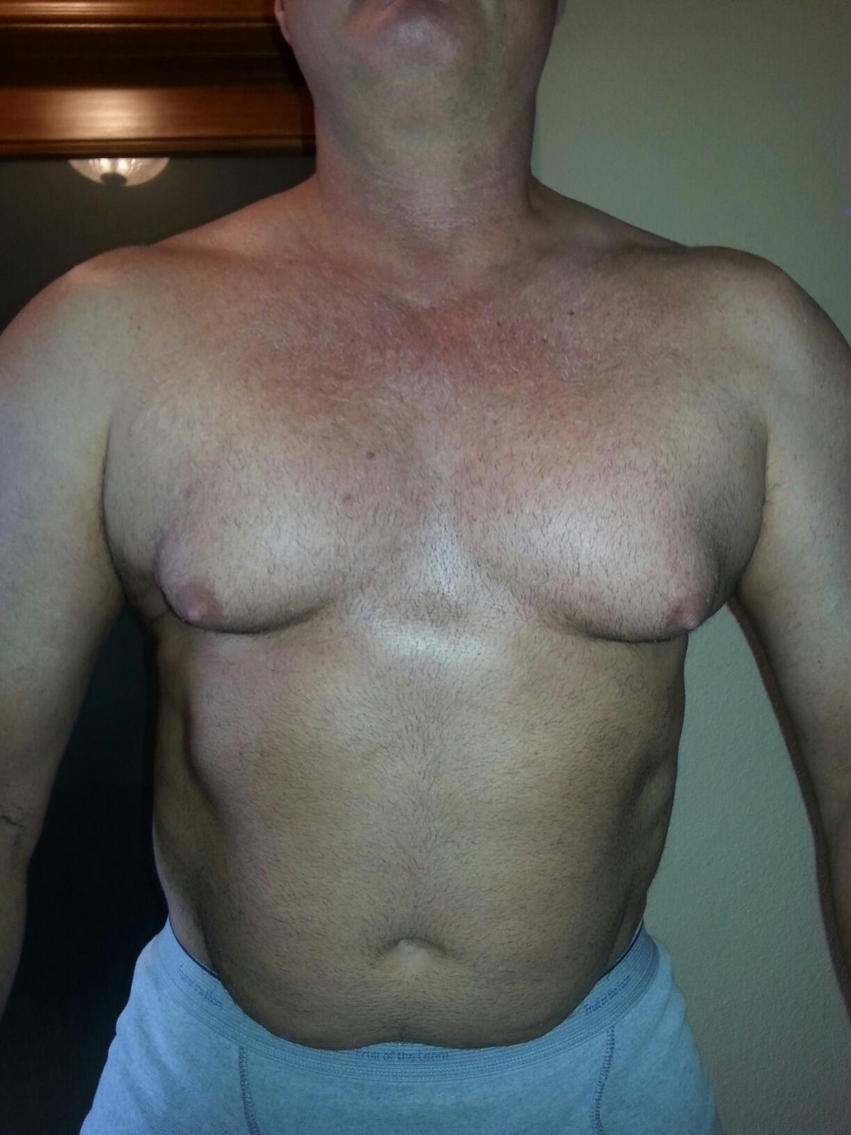First cycle with before and after pics updated weekly TREN/TEST