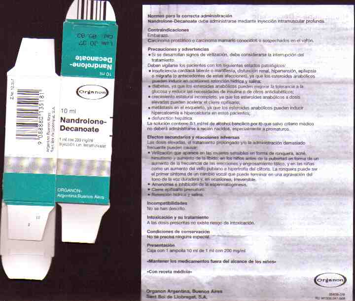 Is there a 10ml Deca Durabolin made by Organon Argentina?