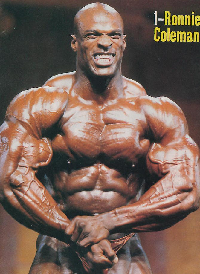Ronnie Coleman A Must See!!!!