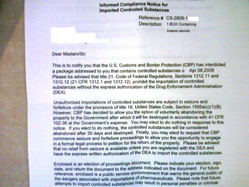 Fake Seizure Letter?? - Page 2