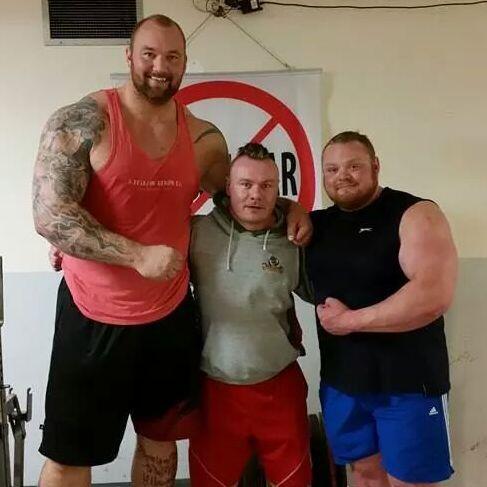 strongmen take steroids
