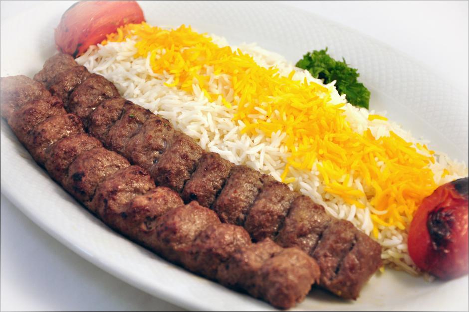 Iranian Kabob Beef kabob made w/ ground
