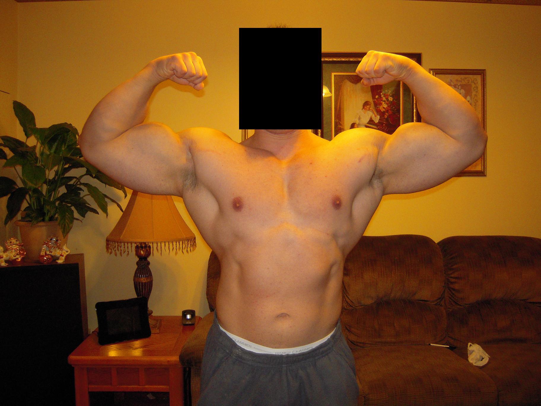 dbol size gains