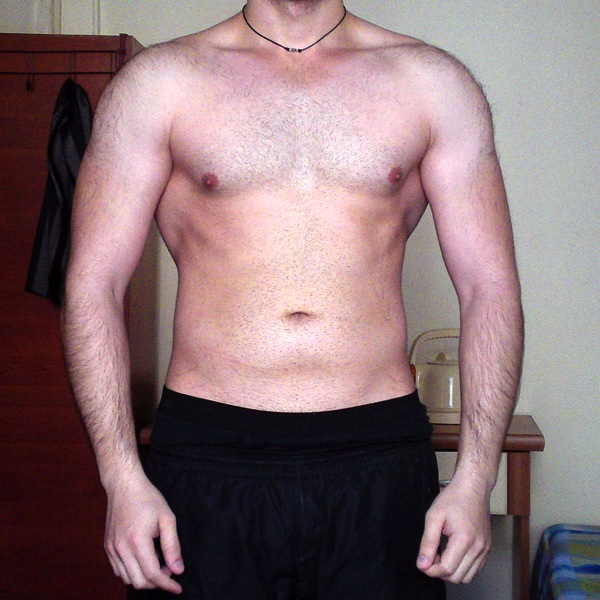 Sustanon 7-week cycle before/after