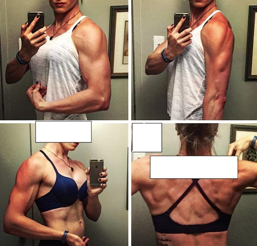 Female, 16 Week Cutting Cycle: EQ + Primo + Var (+Clen)