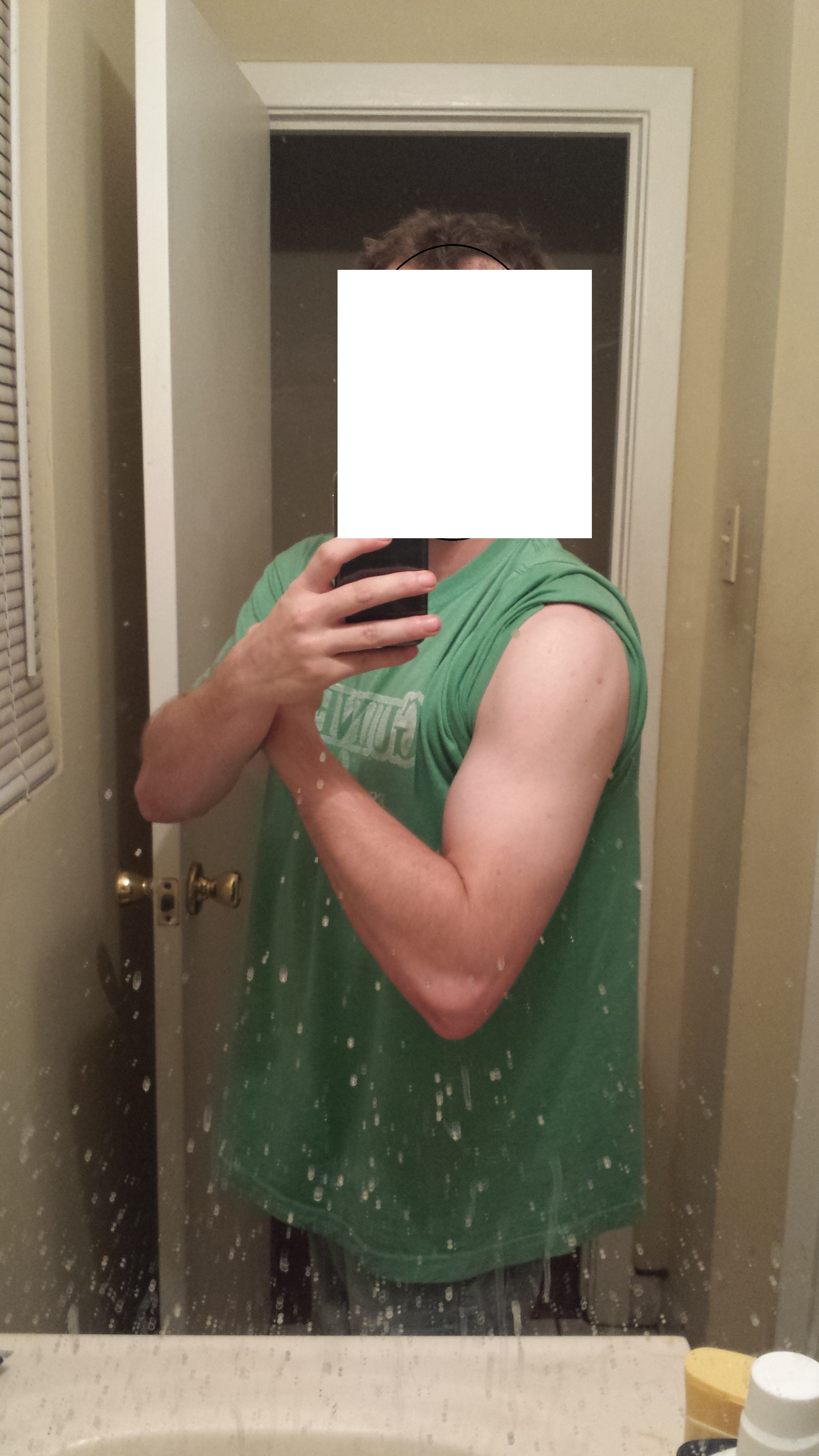 First Cycle  Full log with pictures  Test Cyp 400mg pw