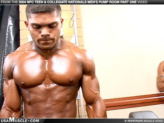 Teen bodybuilder, future pro?