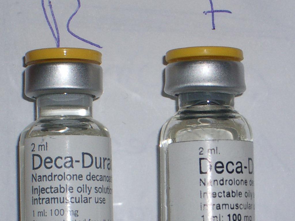 counterfeit yellow top deca ( organon )