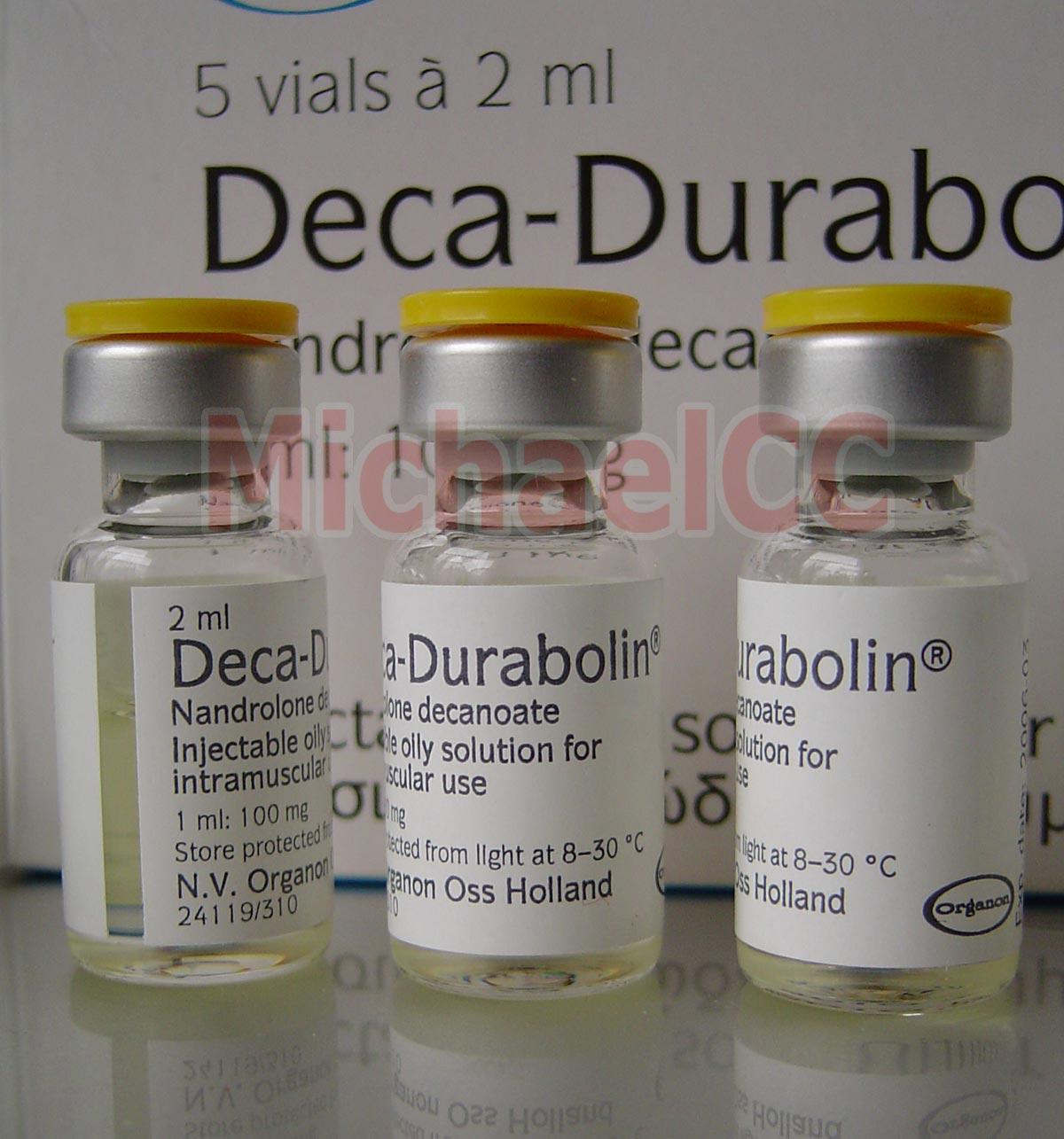 Deca Durabolin (ORGANON) 200mg/2ml - Greece