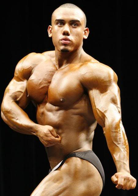 Young NY bodybuilder from dominican rep.