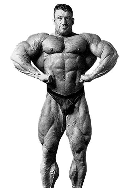 Dorian Yates - 1993 Black & White Gym Pics 6 Weeks Out
