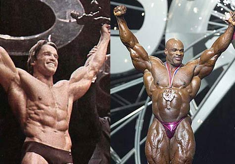 Ronnie Coleman Vs Arnold Arnold vs Ronnie - Pag...
