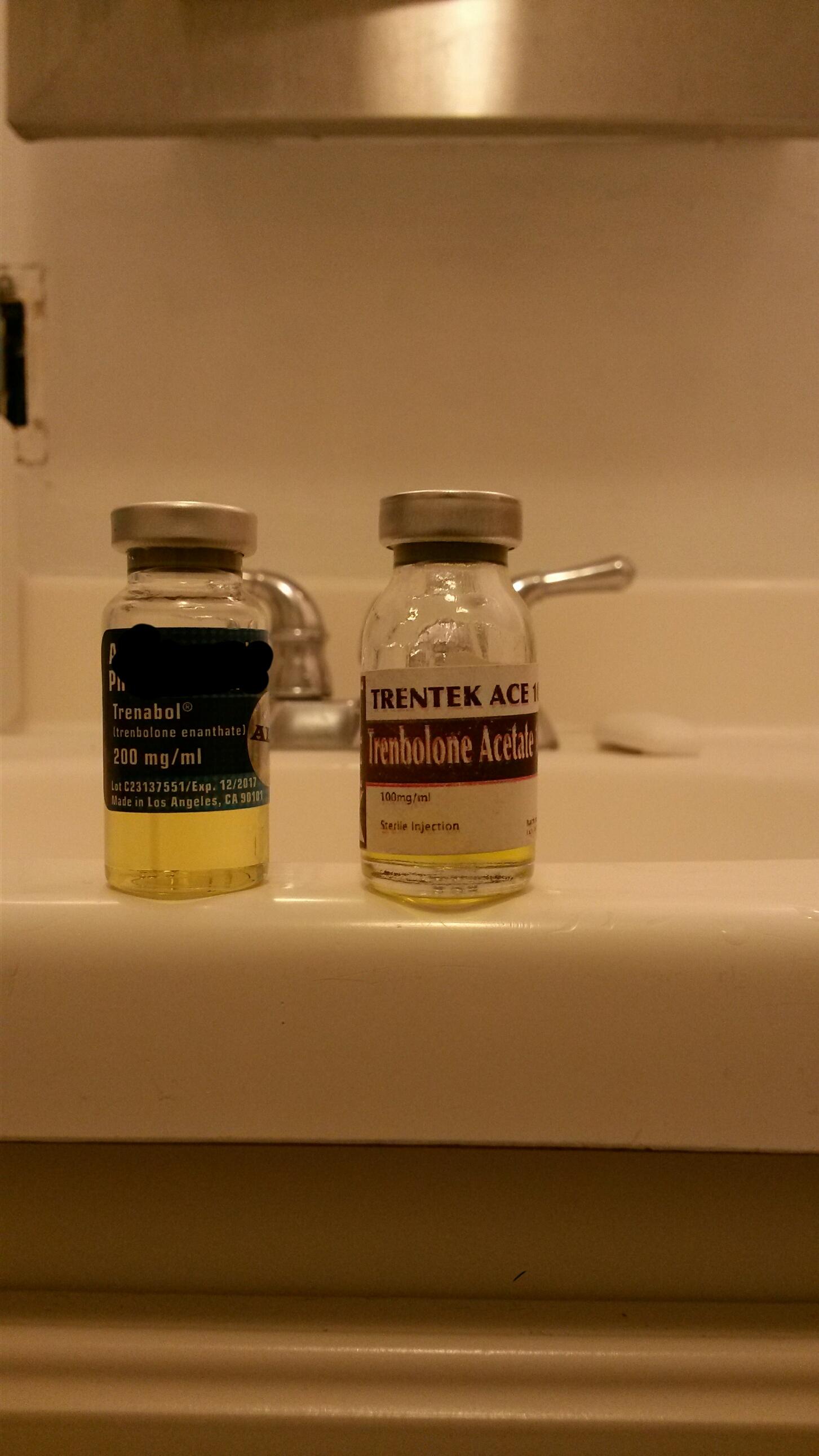 tren steroid color