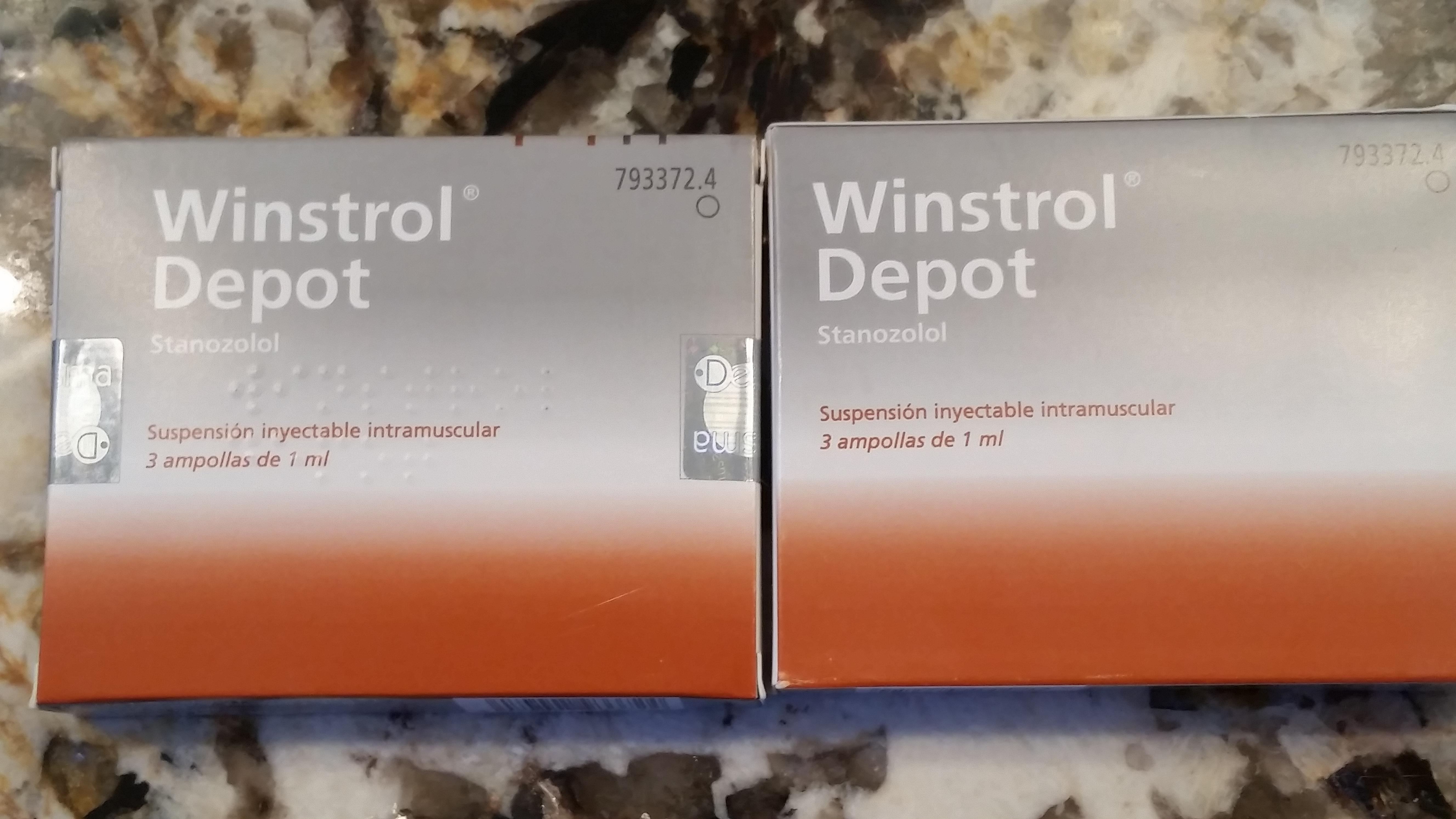 winstrol depot falso