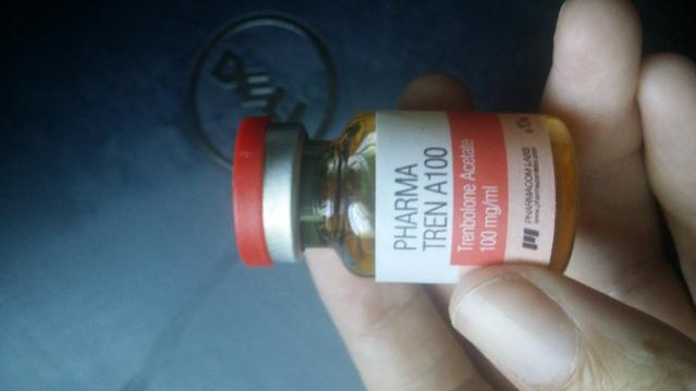 Real or fake Tren Acetate by Pharmacom Lab