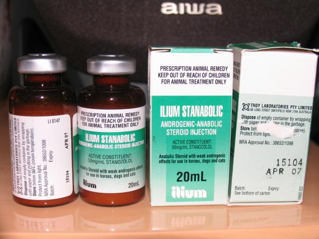 ilium stanabolic injection