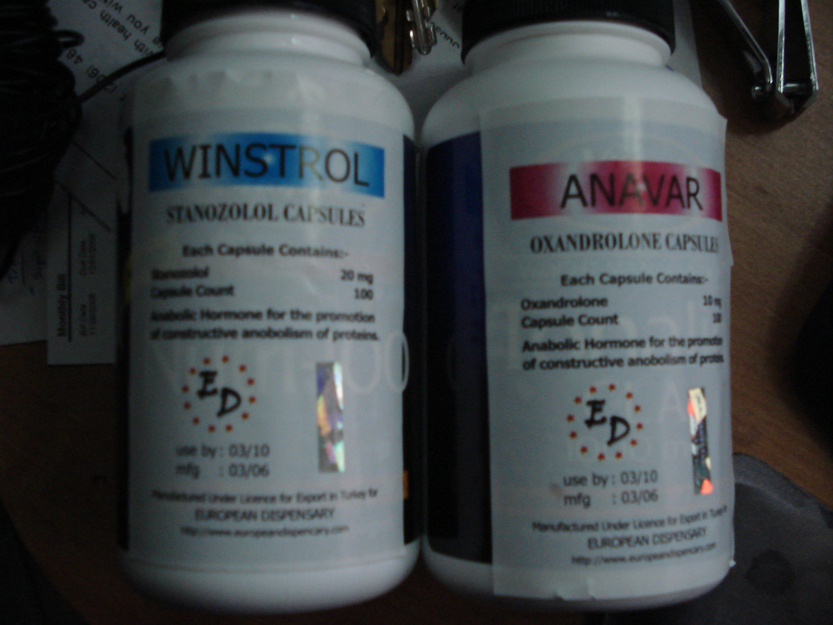 anavar dosages and cycles