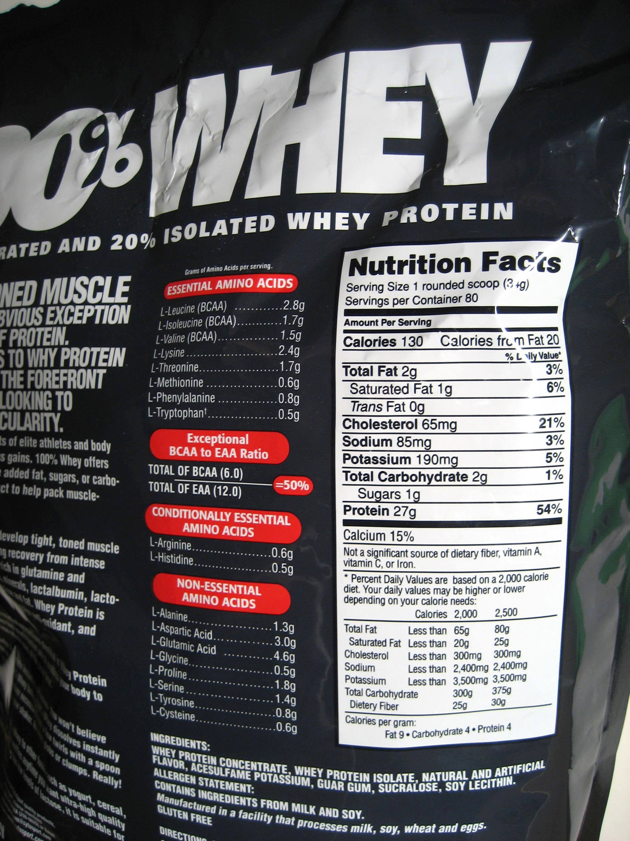 The Rundown On Costco Protein Powder The Modanonpsup38s Soup
