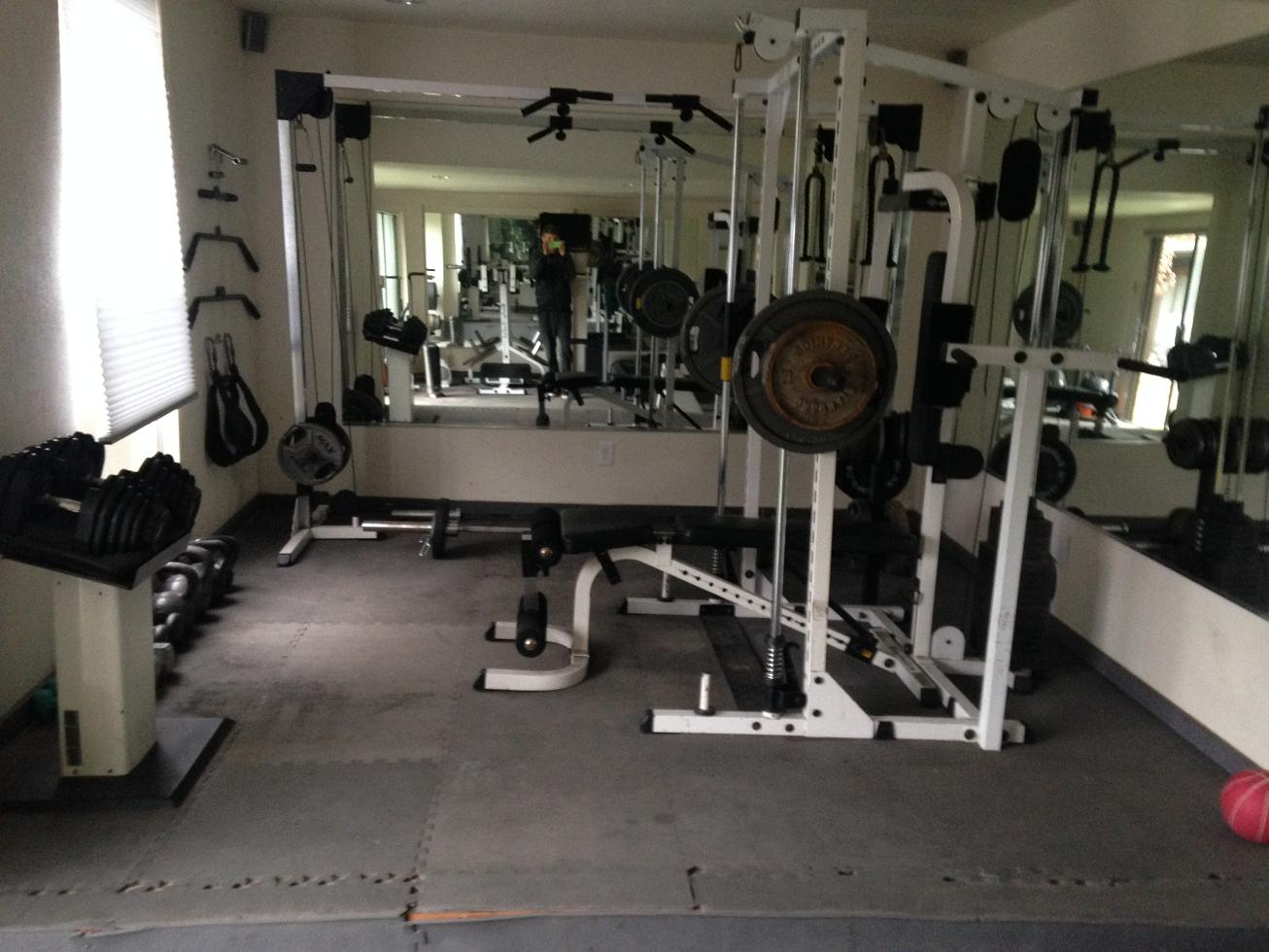 Pictures Of Home Gyms Home Gyms